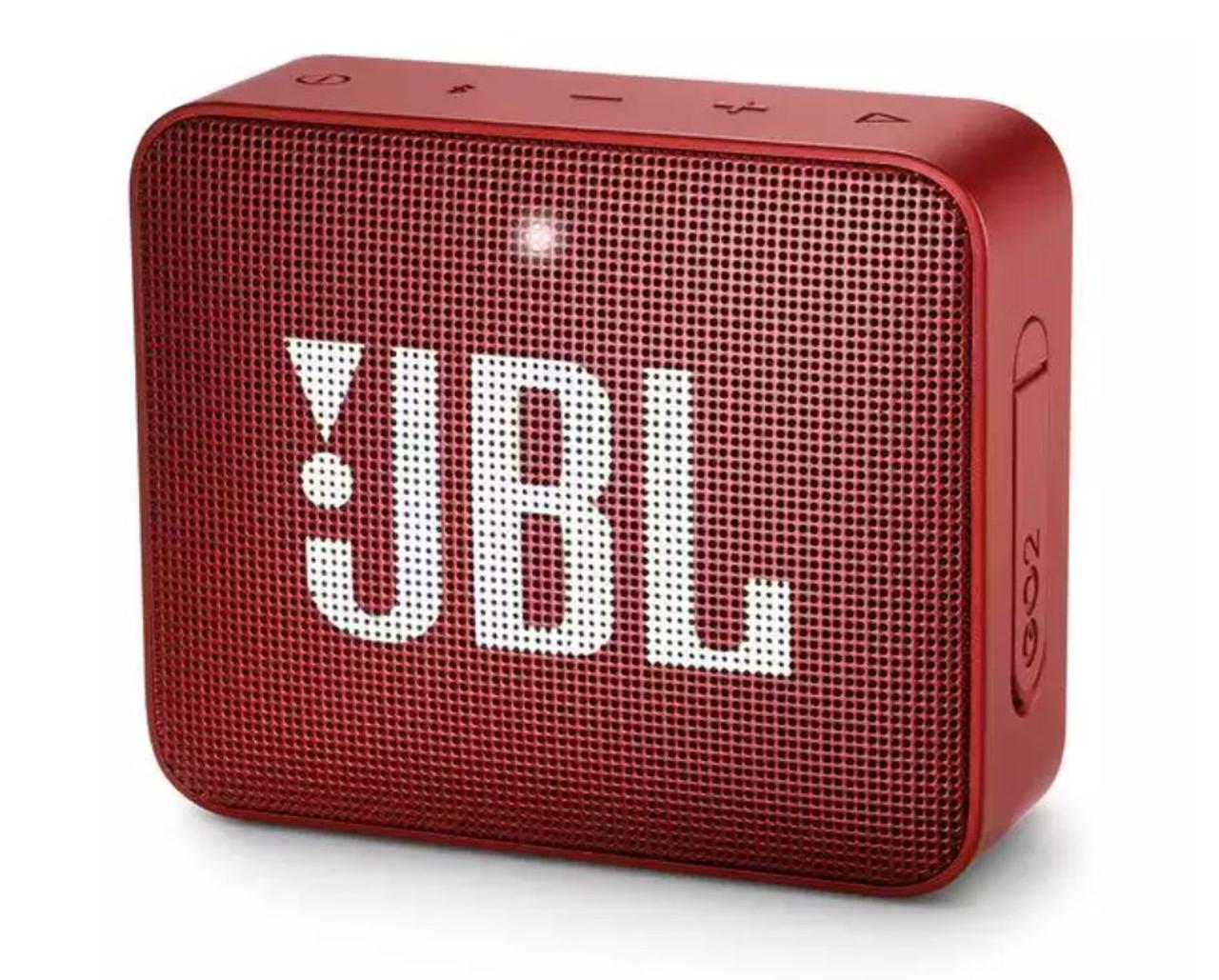 JBL JBLGO2RED-Z  Go 2 Portable Bluetooth Speaker, Ruby Red - Certified Refurbished
