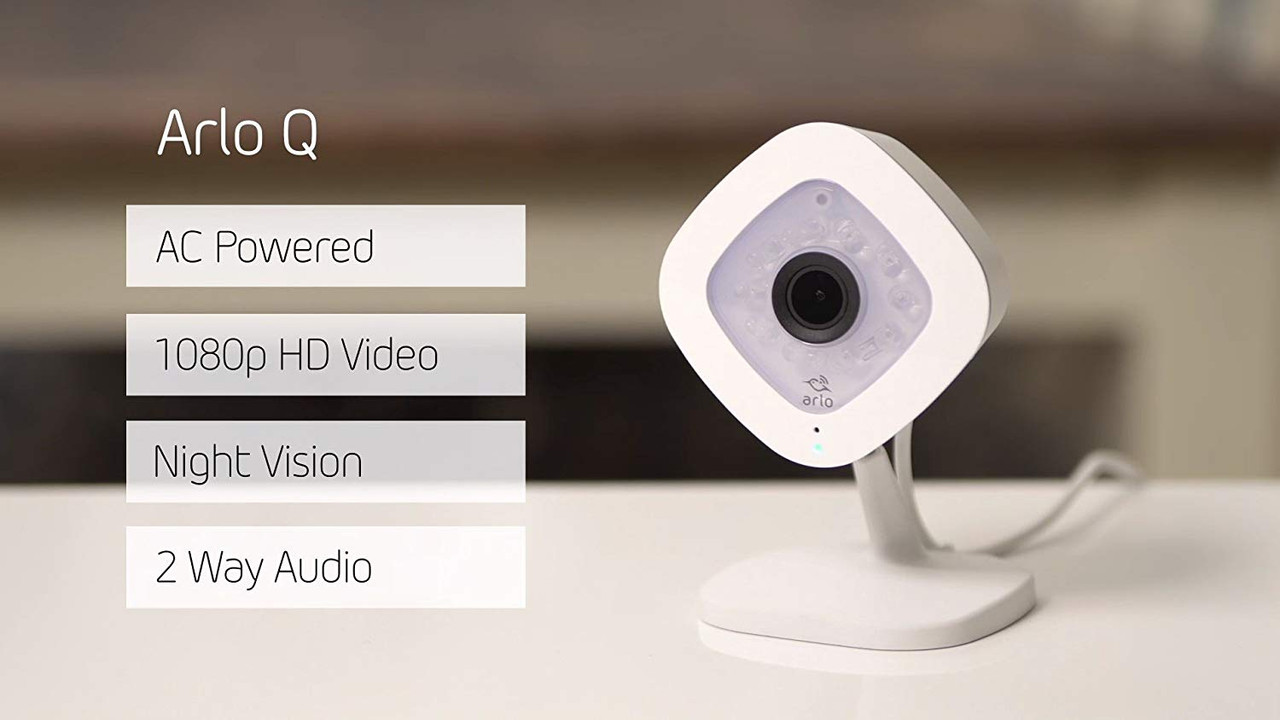 Arlo VMC3040-100NAR Q-Series Day/Night Cube Camera - Certified Refurbished