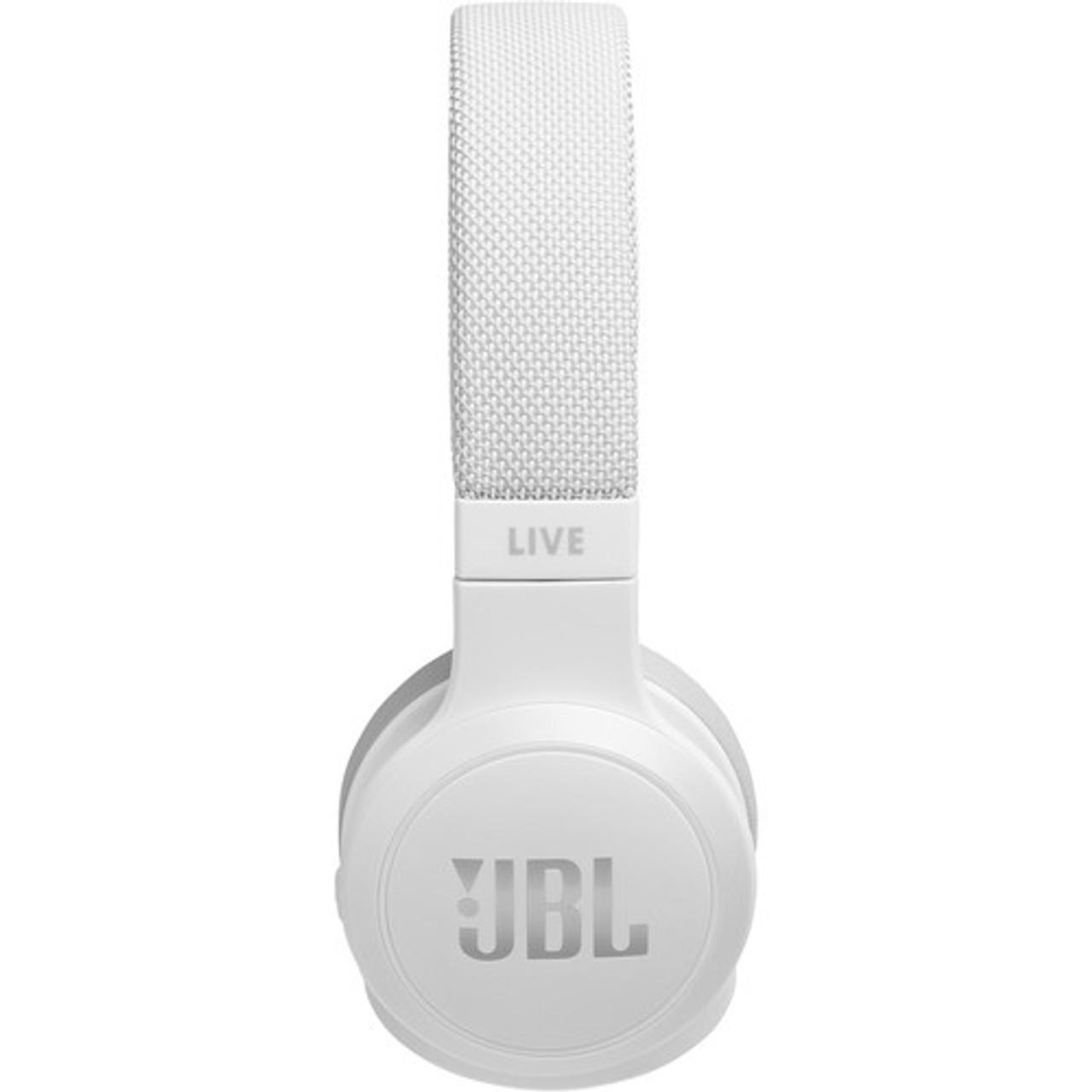 JBL JBLLIVE400BTWTAM-Z LIVE 400BT Wireless On-Ear Headphones, White – Certified Refurbished