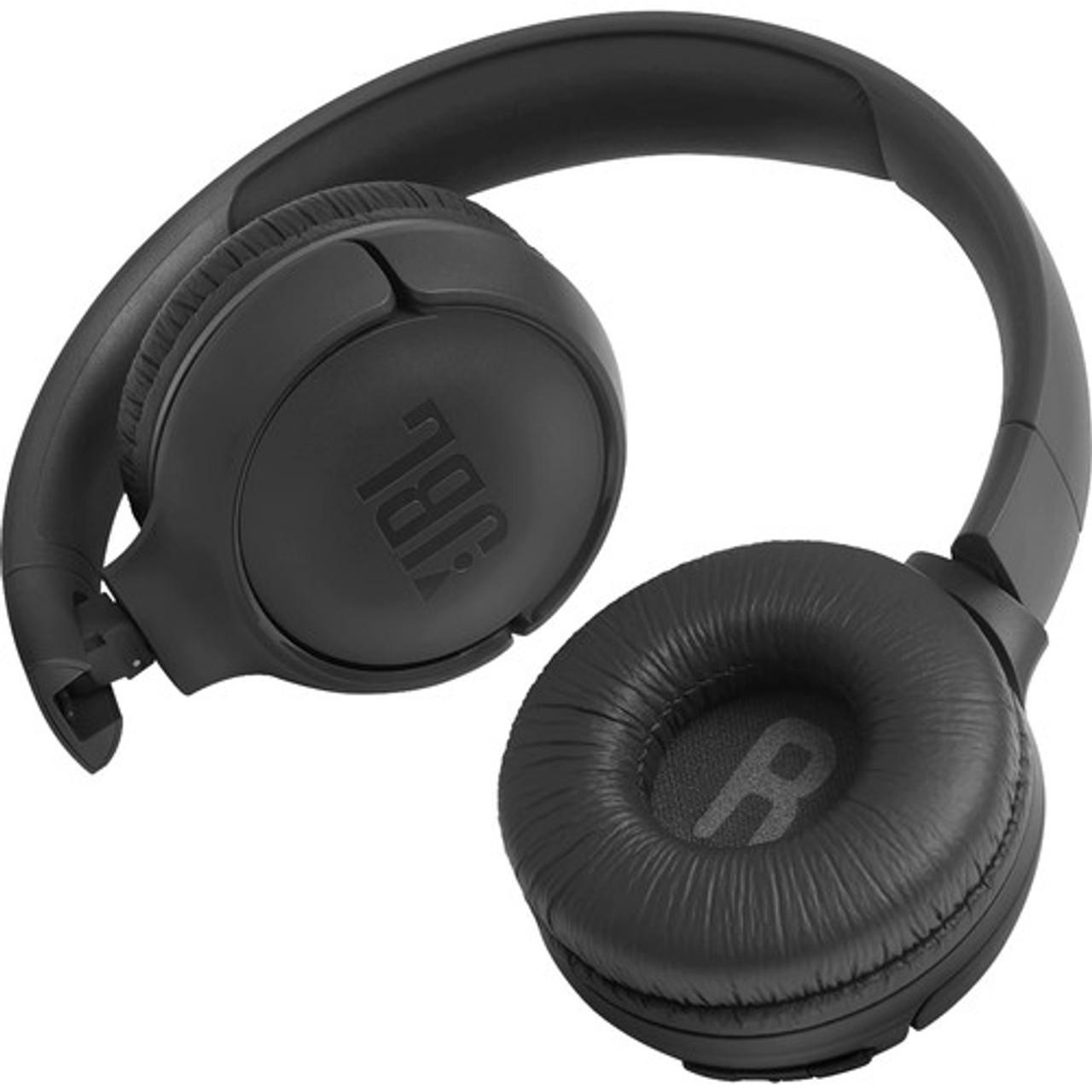 JBL JBLT500BTBLKAM-Z Tune 500BT Wireless On-Ear Headphones, Black – Certified Refurbished