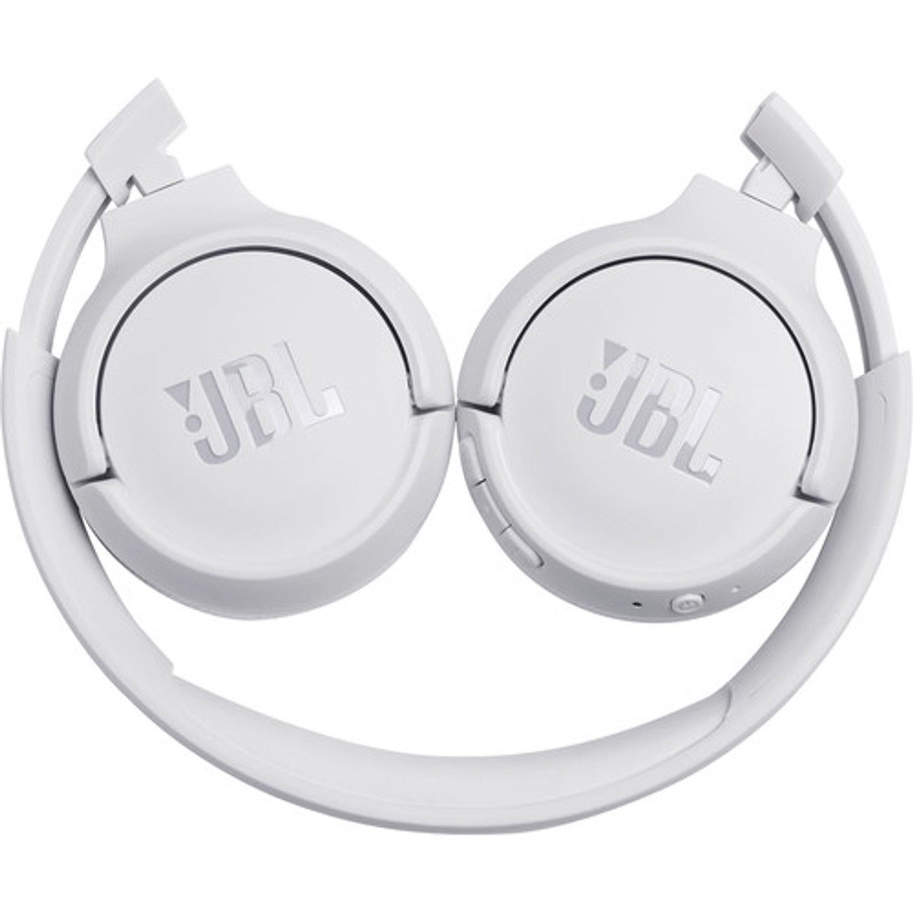 JBL JBLT500BTWHTAM-Z Tune 500BT Wireless On-Ear Headphones, White – Certified Refurbished