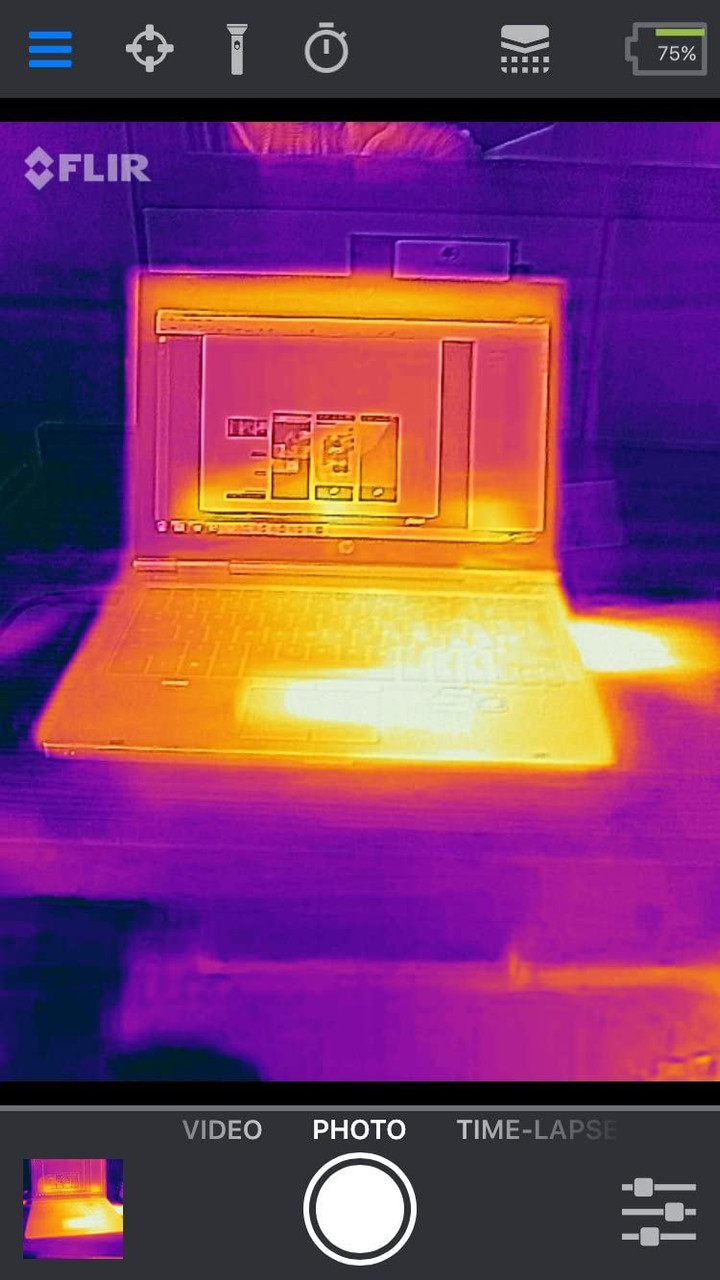 FLIR 435-0007-02-OB ONE Pro Thermal Imaging Camera for Android USB-C - Used Open Box