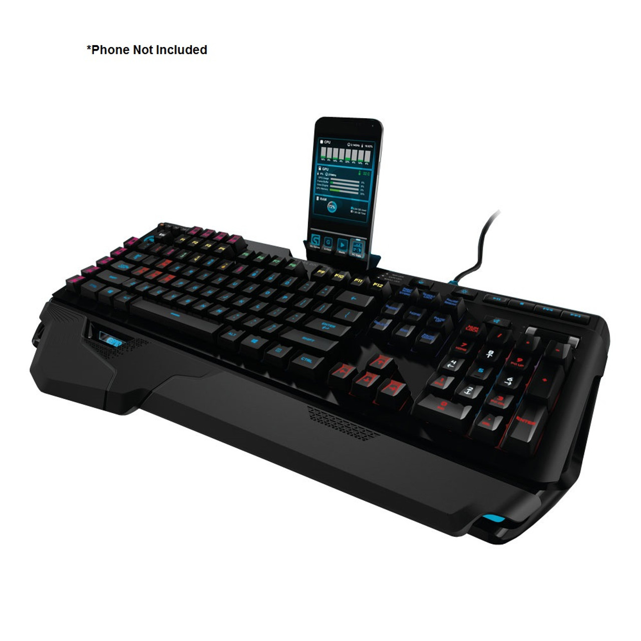 Logitech G910 Orion Spark RGB Mechanical Gaming Keyboard (920-006385) - Refurbished