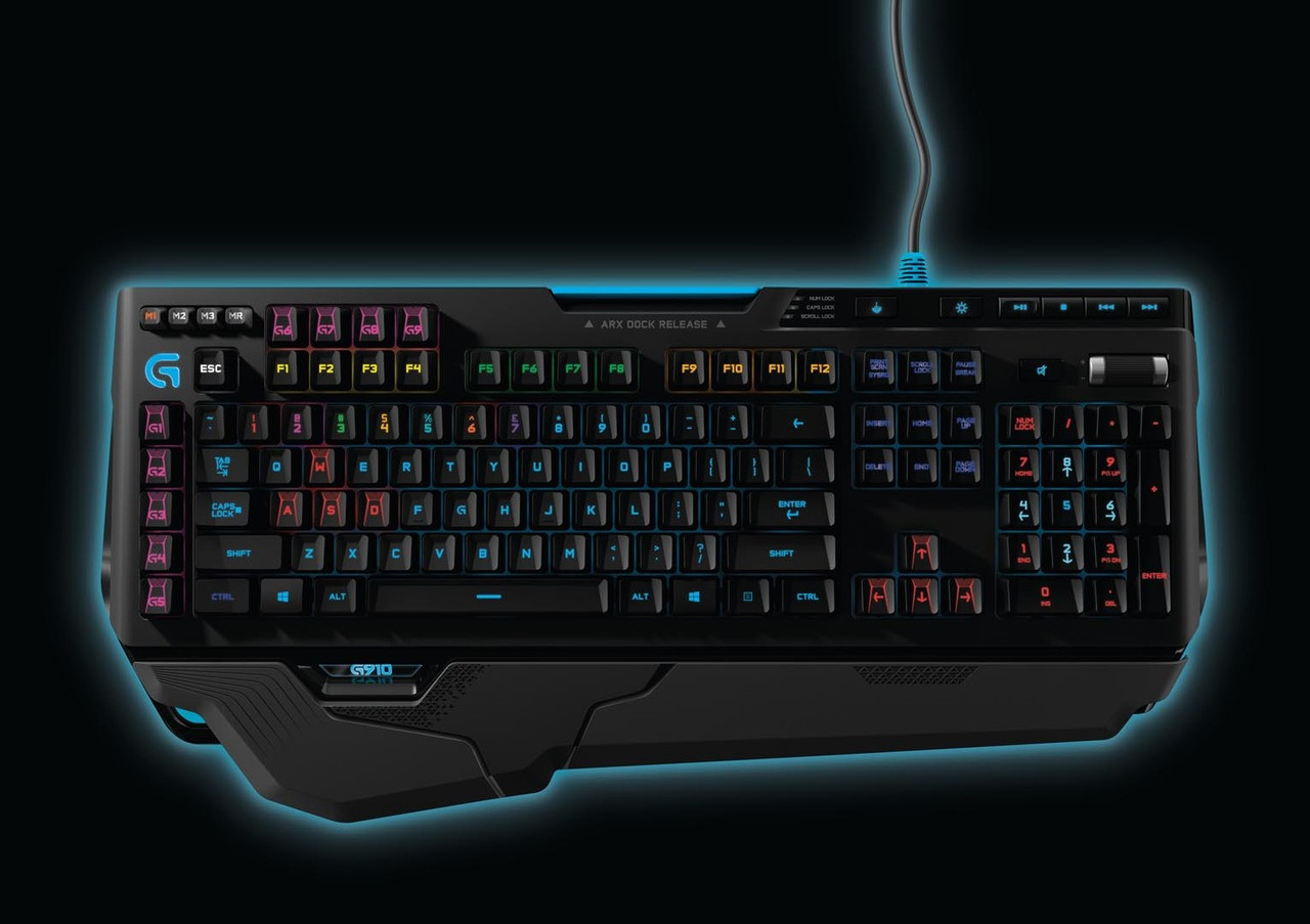 62351362e1f Logitech G910 Orion Spark RGB Mechanical Gaming Keyboard (920-006385) -  Refurbished