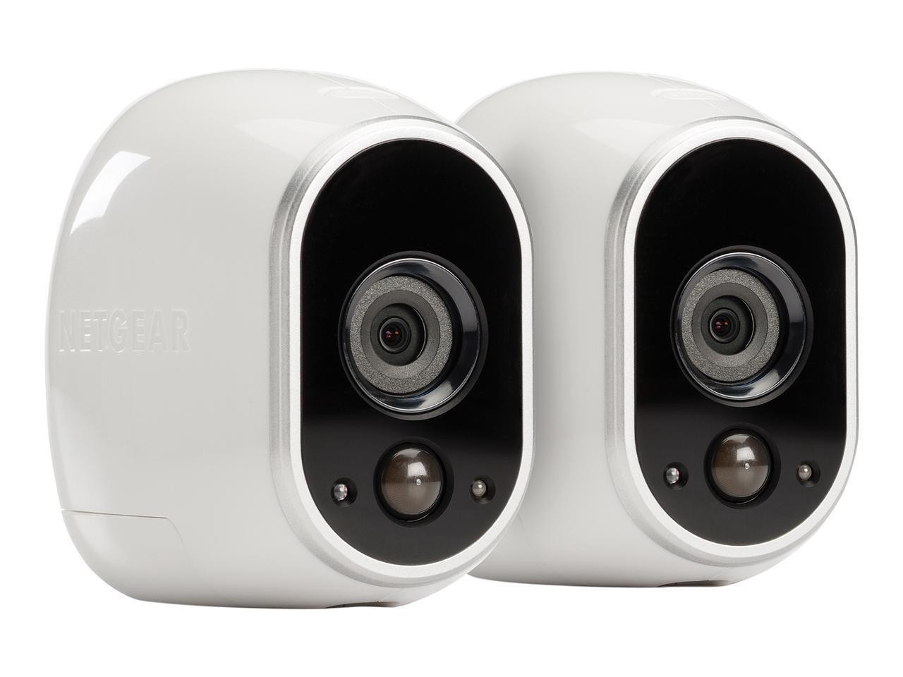 Arlo VMS3230-100NAR Wire-Free Security System with 2x HD 720p Cameras - Certified Refurbished
