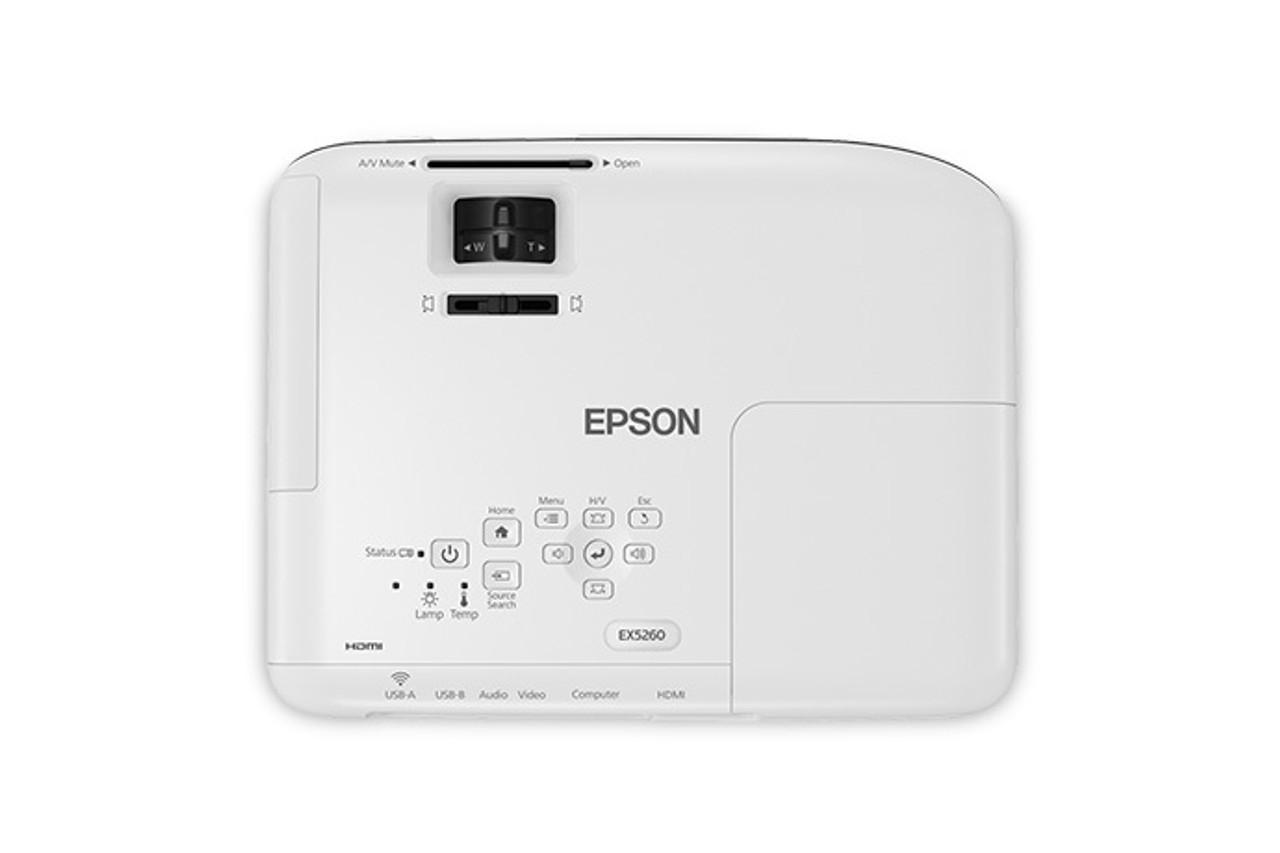 Epson V11H843020-RB EX5260 Wireless XGA 3LCD Projector - Certified Refurbished