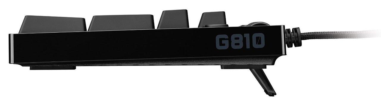 Logitech G810 Orion Spectrum RGB Mechanical Gaming Keyboard - Recertified