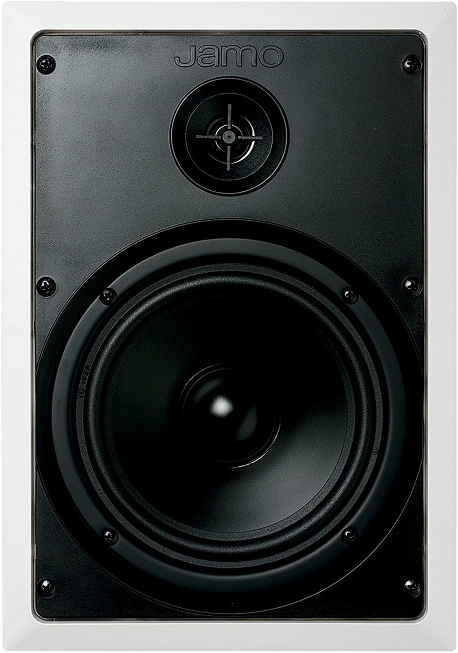 "Jamo J94004 660CS 2-Way 6.5"" In-Wall Speaker, White, Each"