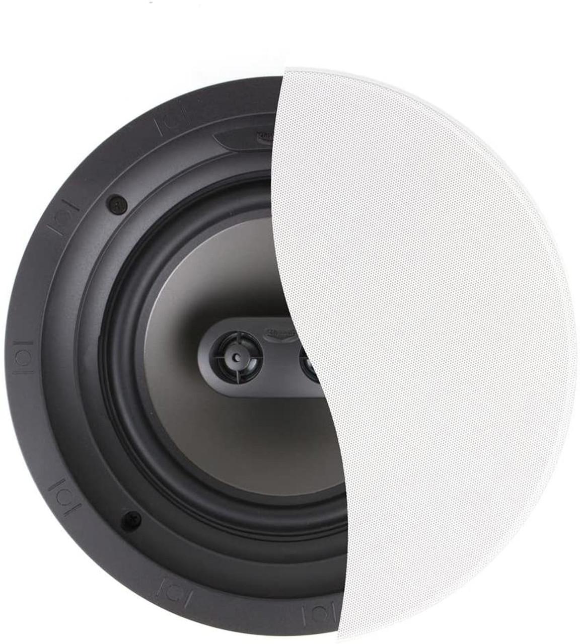 Klipsch K1014138 R-2800-CSM In-Ceiling Speaker, White, Each