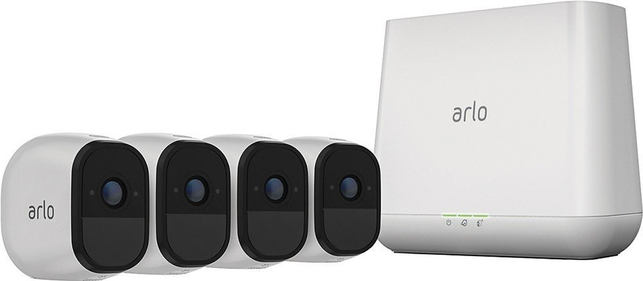 Arlo VMS4430U-100NAR 4 x HD Cameras Pro Security System - Certified Refurbished