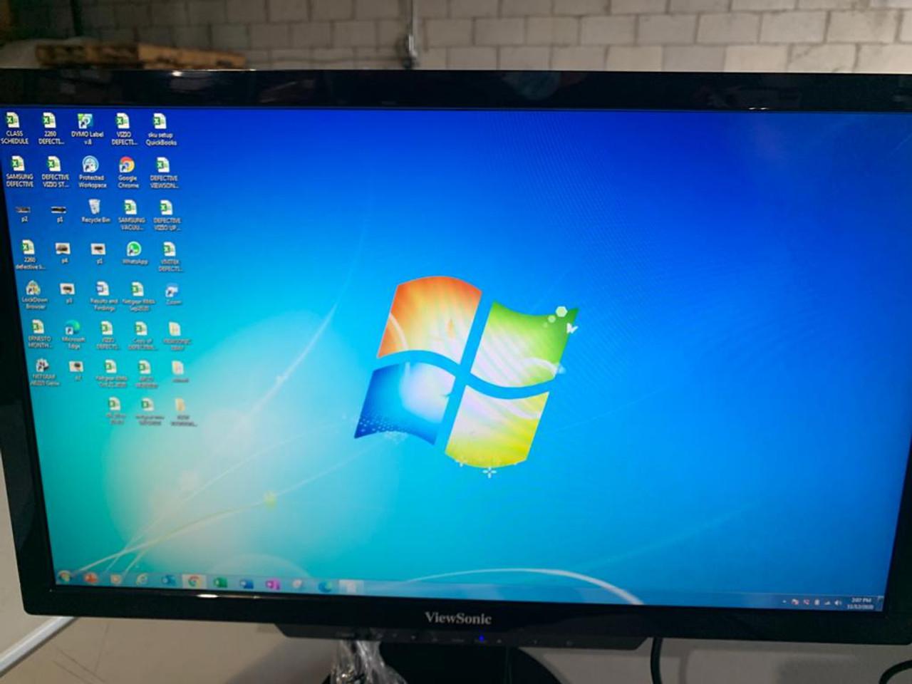 "ViewSonic DNI-SD-T225_BK_US0-R 22"" Screen LCD Thin Client Monitor - C Grade Refurbished"