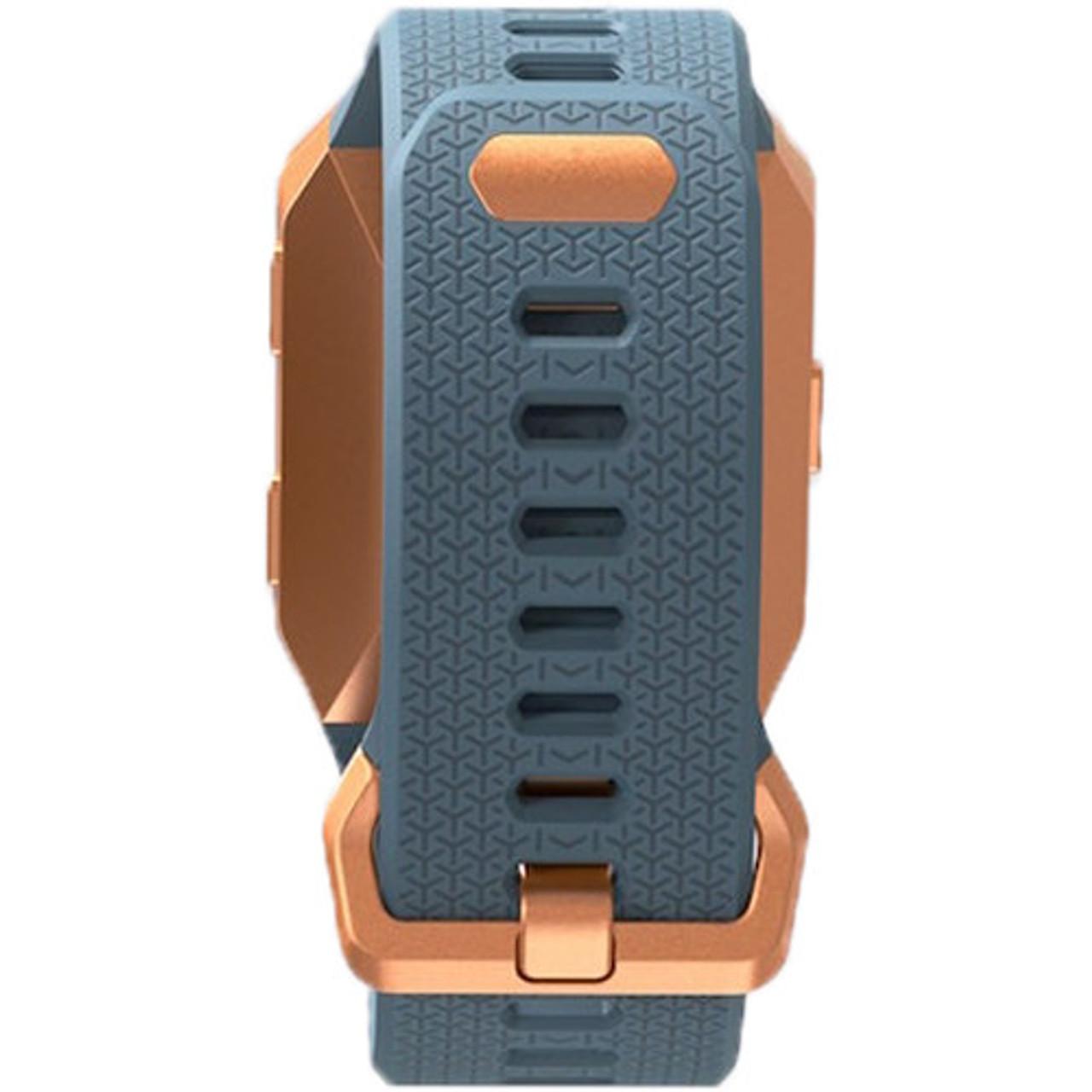 Fitbit FB503CPBU Ionic Fitness Smartwach - Slate Blue/Burnt Orange