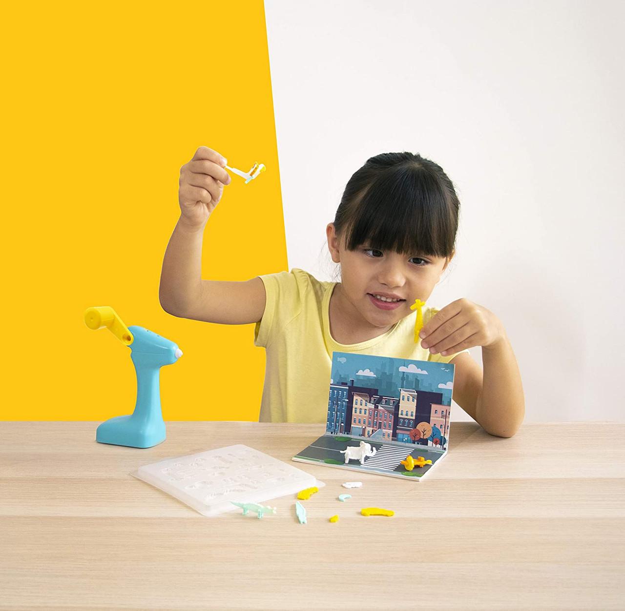 3Doodler 0JPSJUBE1R 3D Build and Play Printing Pen Education Art Tool for Kids