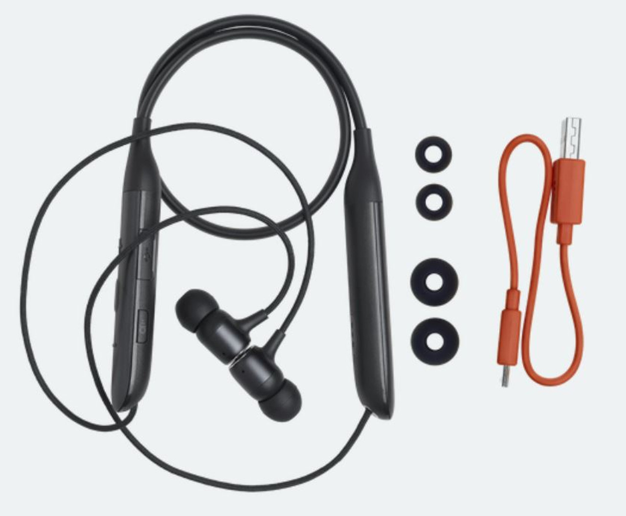 JBL Live 220BT Wireless in-ear Neckband Headphones Black-JBLLIVE220BTBKAM-Z - Certified Refurbished