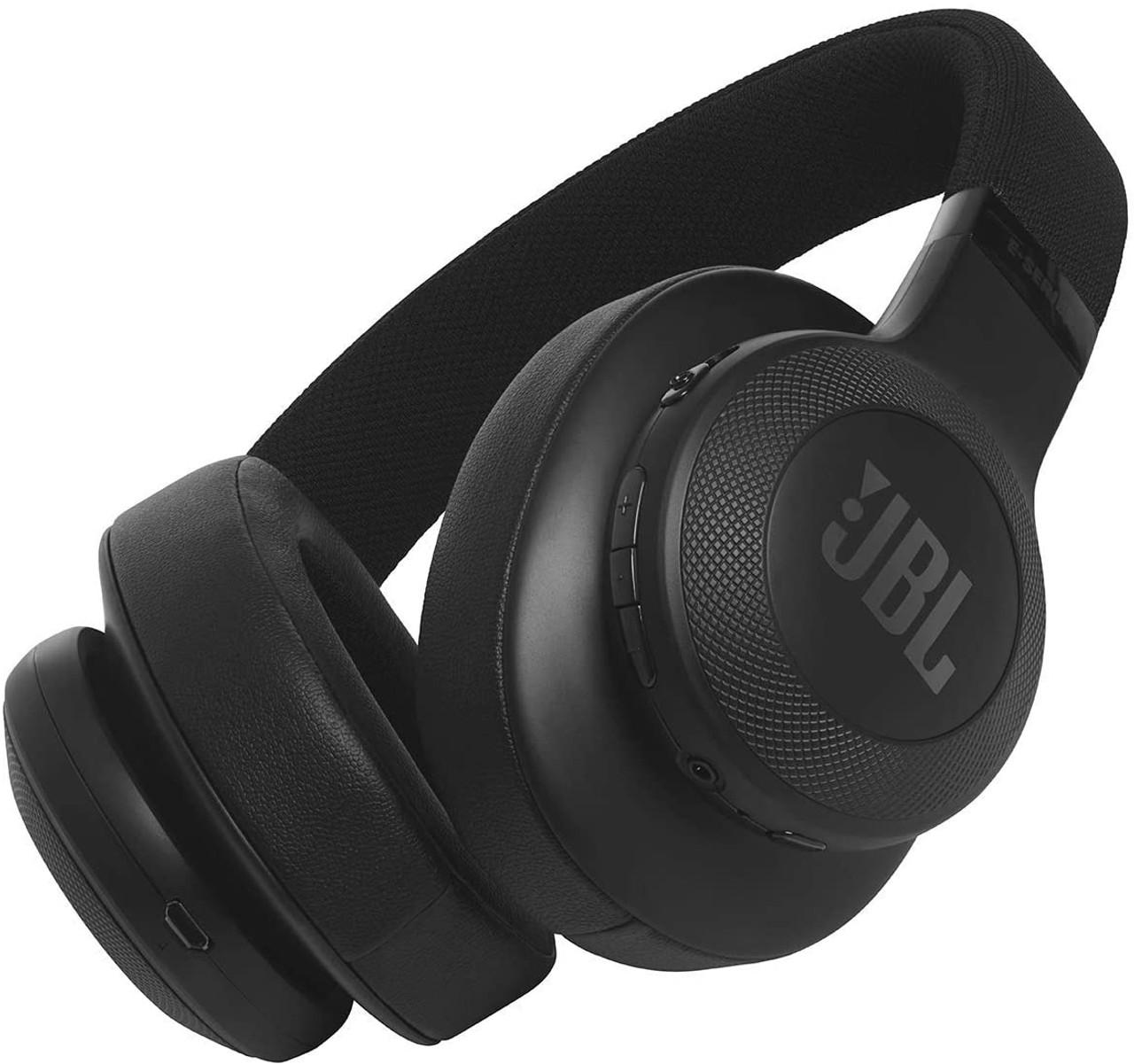 JBL JBLE55BTBLK-Z Bluetooth Headphones, Black – Certified Refurbished