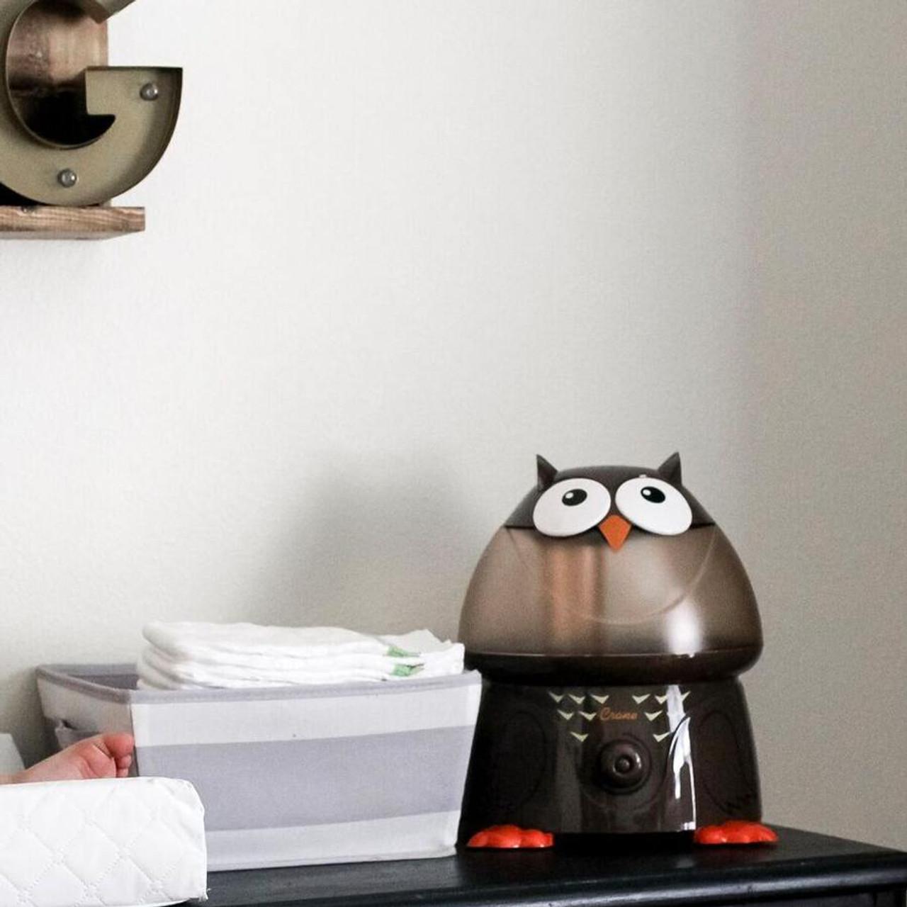 Crane RB-8189 EE-8189 Adorables Ultrasonic Humidifier Owl Certified Refurbished