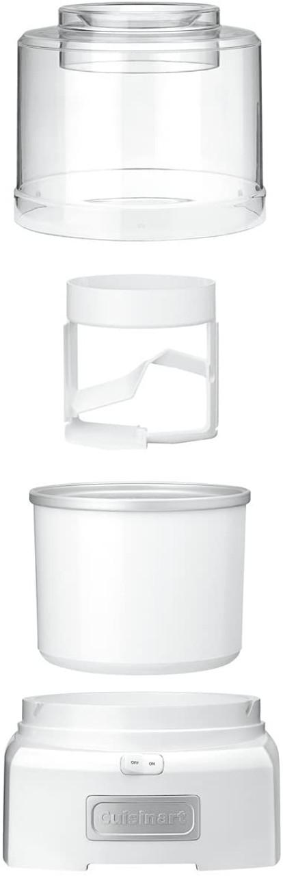 Cuisinart ICE-21FR Frozen Yogurt Ice Cream Maker-  Certified Refurbished