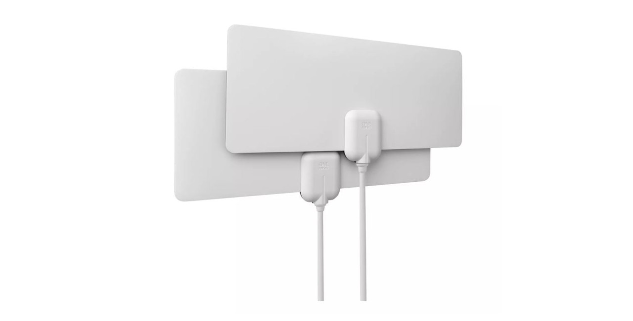 One For All U14502 HDTV 4K 2  Room Pack HDTV Indoor Antenna Over Air TV Channels