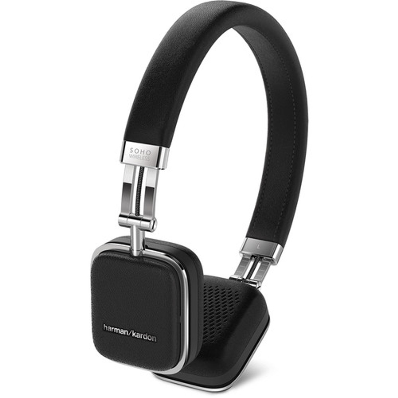 JBL Harman Kardon HKSOHOBTBLK-Z Soho Wireless Headphones - Certified Refurbished