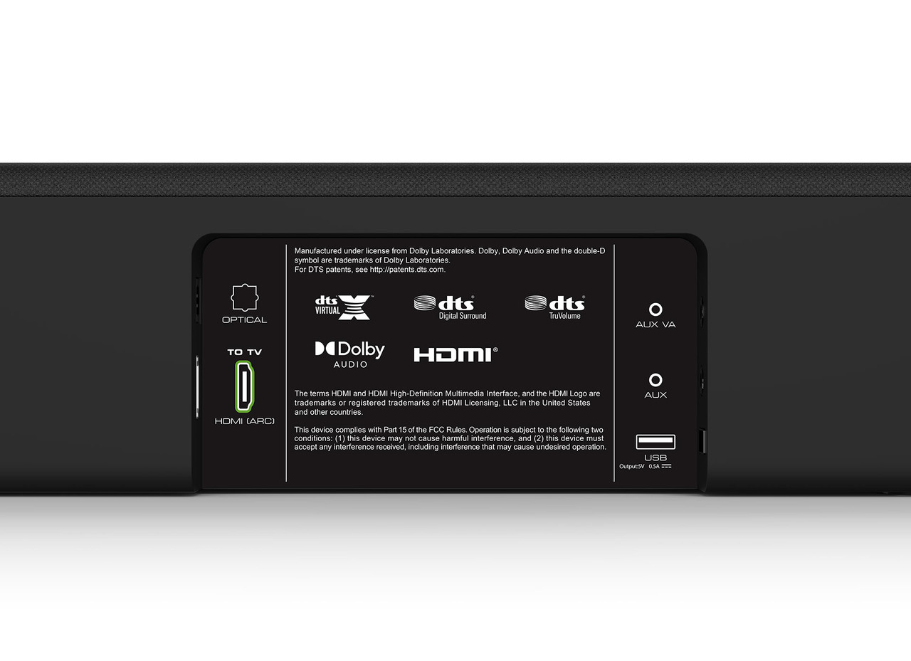 "VIZIO SB3241n-H6B-RB 32"" 4.1 Sound Bar with Wireless Subwoofer - Certified Refurbished"