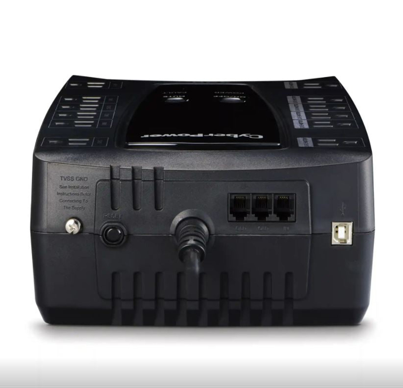 CyberPower LE850G-R Battery Backup 850VA/460W with Surge Protection UPS - Certified Refurbished