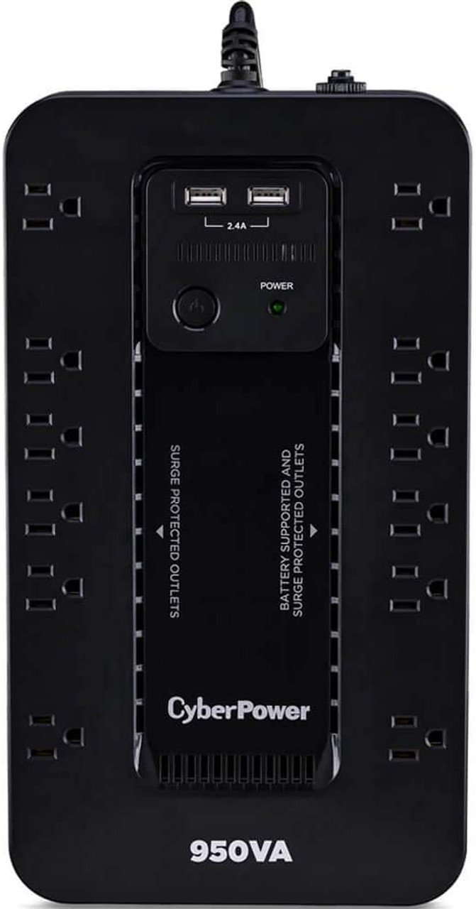 CyberPower SX950U-R 950VA/510W 8-Outlet UPS System with USB - Certified Refurbished