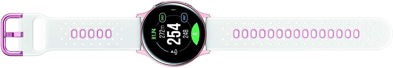 Samsung SM-R830NZDGGFU-RB Galaxy Watch Active2 40mm Golfer Bluetooth Wi-Fi Pink Gold Certified Refurbished