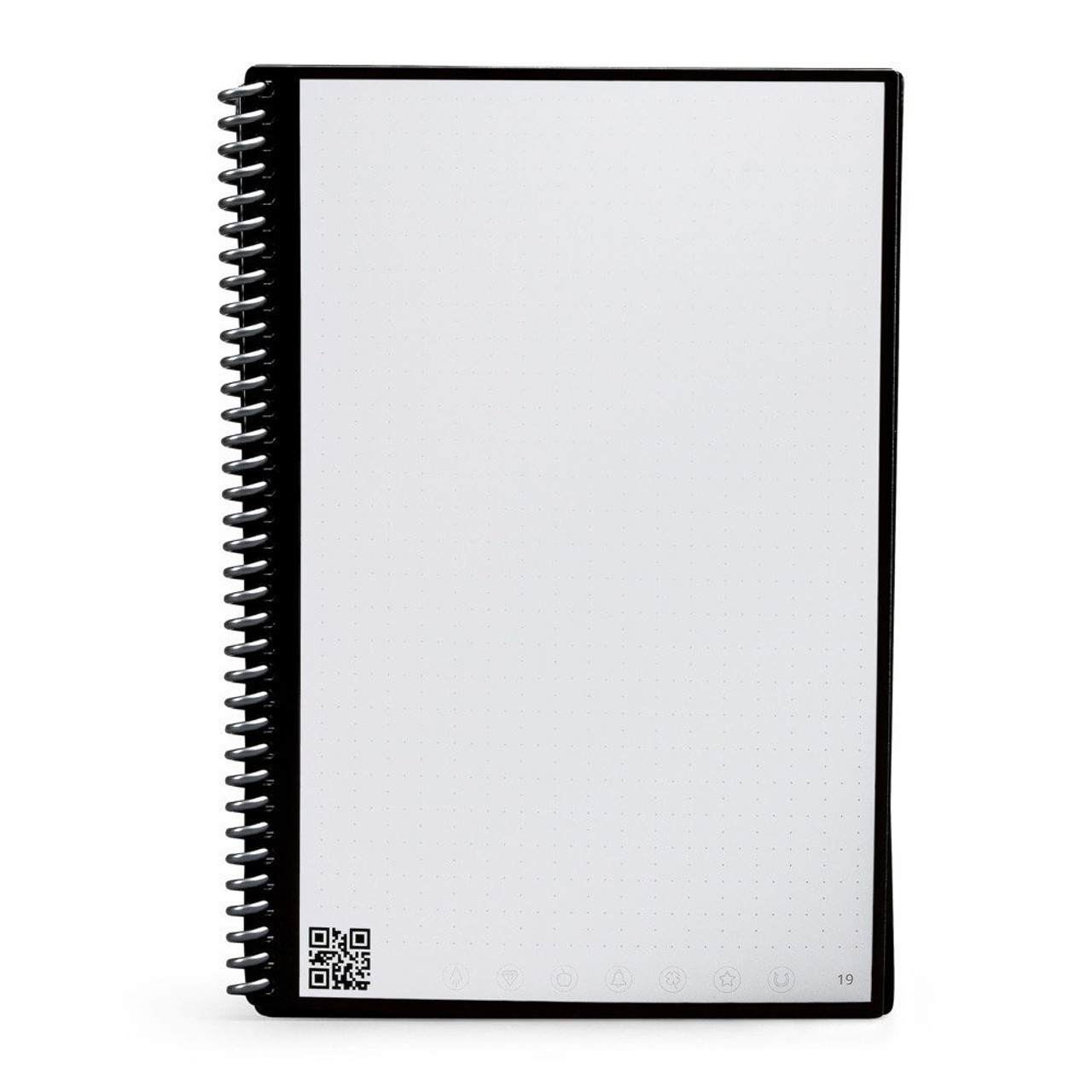 Rocketbook EverLast Reusable Wirebound Notebook- Executive size - Smart Erasable,  with PenStation