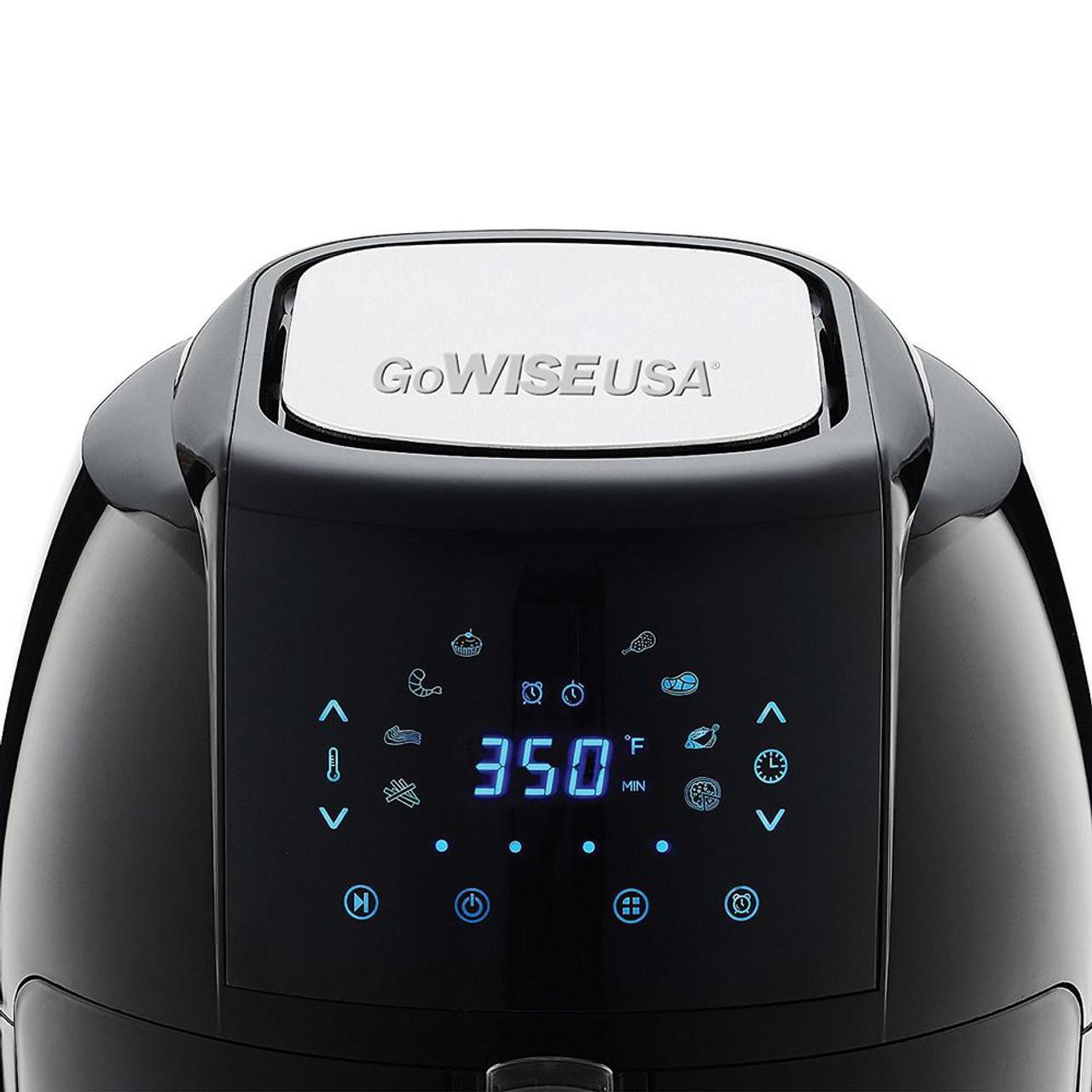 GoWISE GW22731 5.8-Quart Electric Air Fryer - Black