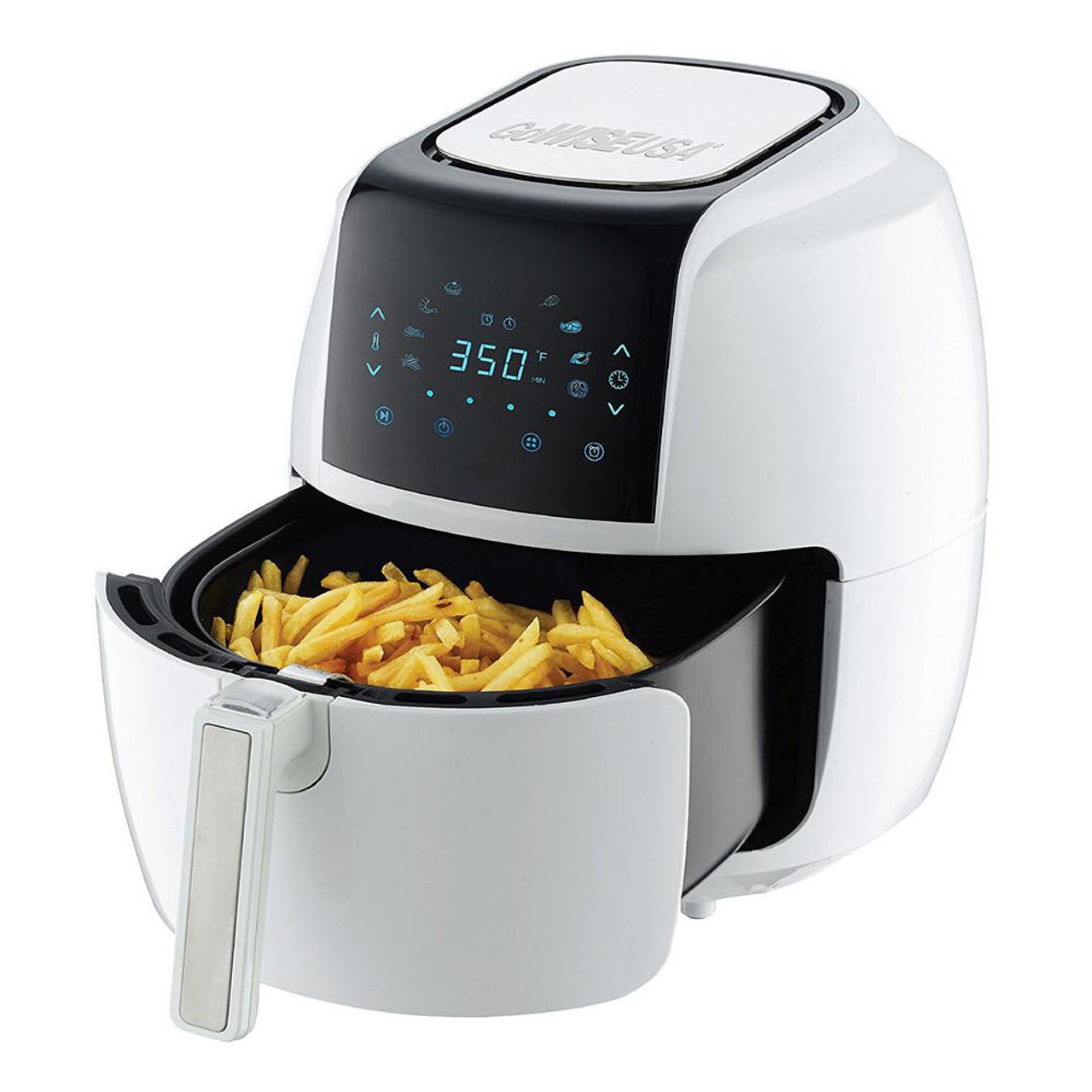 GoWISE GW22735 5.8-QT 8-in-1 Electric Air Fryer - White