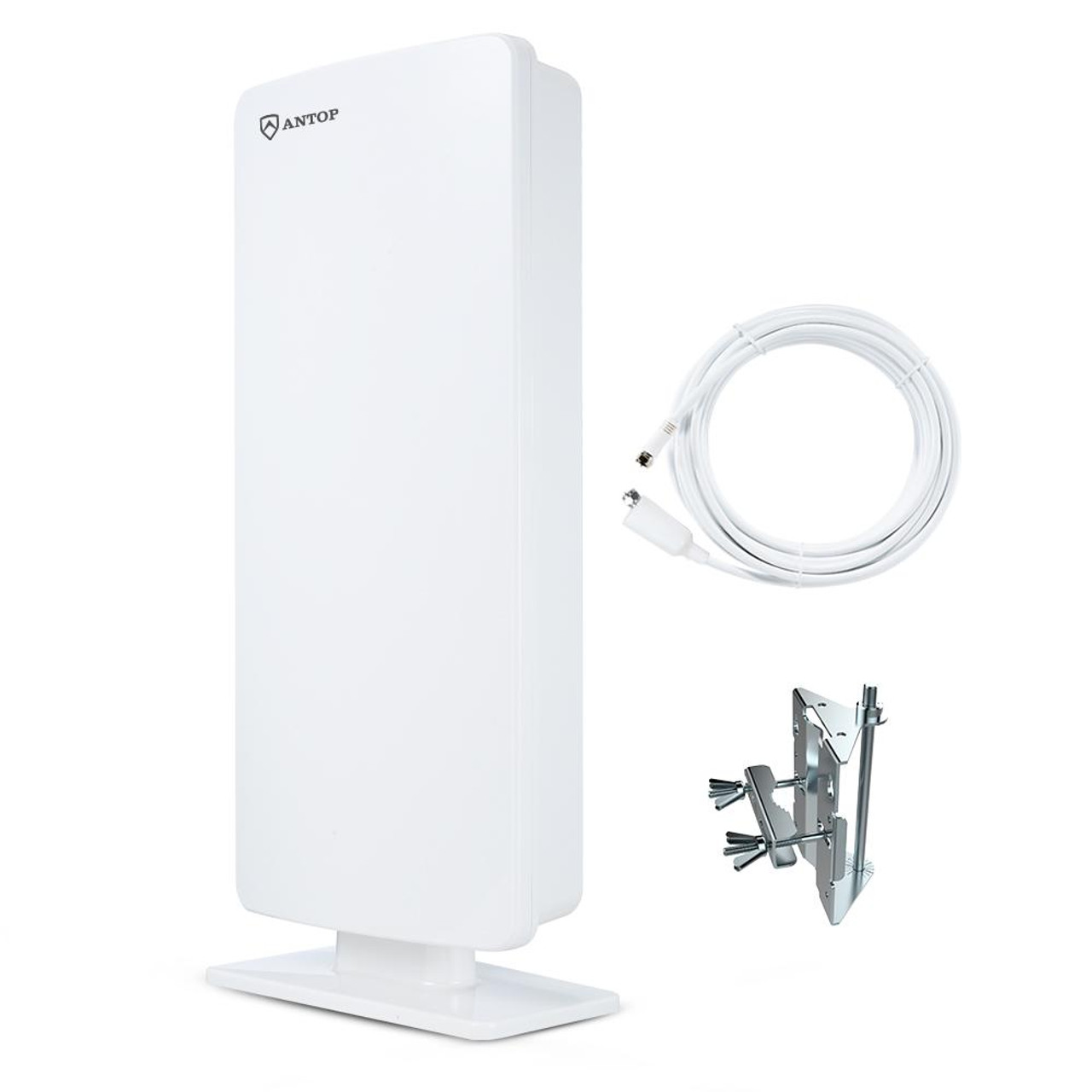 "ANTOP ""Big Boy"" AT-400 Outdoor/Indoor HDTV Antenna 65 Miles Range"