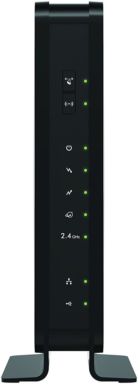 NETGEAR C3000-100NAS N300 Cable Modem Router -WiFi DOCSIS 3.0 (C3000) Certified for Xfinity from Comcast, Spectrum, Cox, Cablevision & more