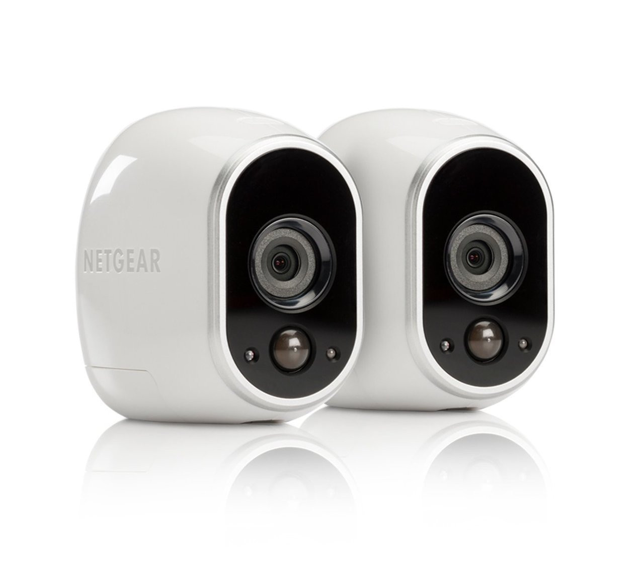 ArloVMC3030-100NAR-2pack NETGEAR Security Camera, Add-on Wire-Free HD Camera [Base Station not included], Indoor/Outdoor, Night Vision and Works with Alexa - Certified Refurbished
