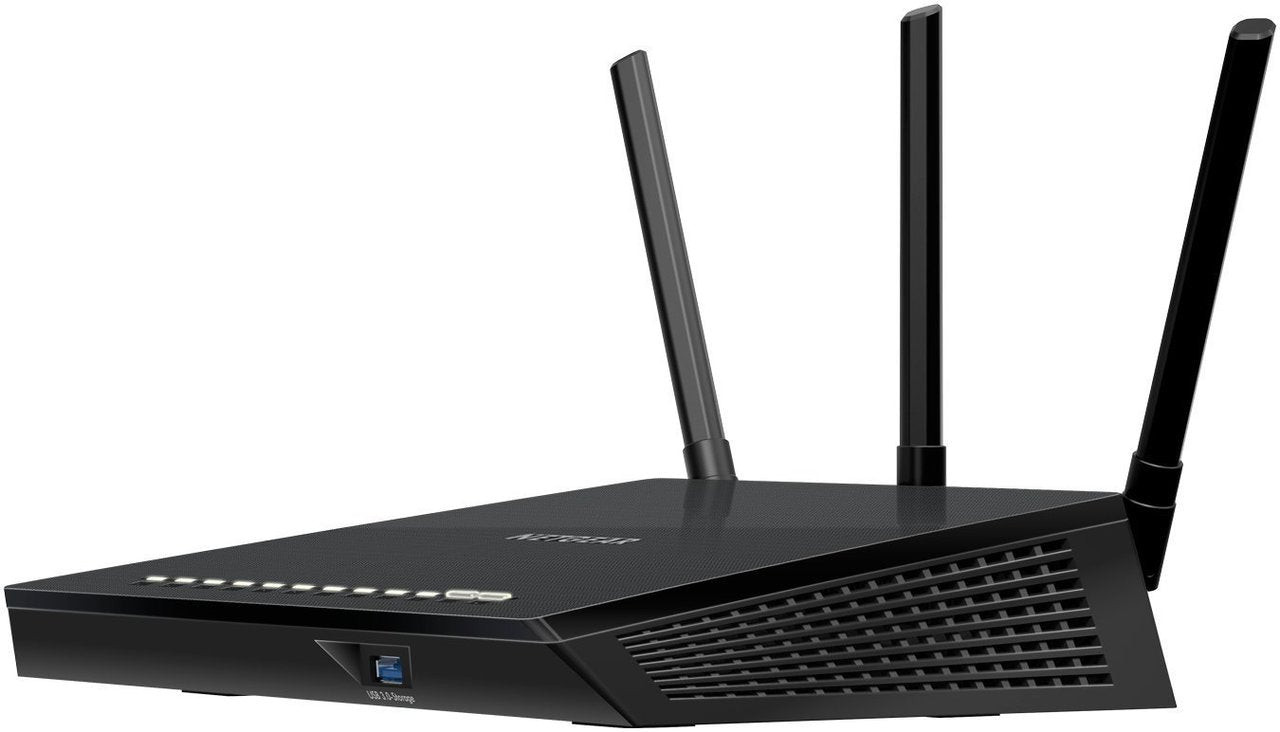 NETGEAR R6400-100NAR Smart WiFi Router Dual Band  AC1750 - Certified Refurbished