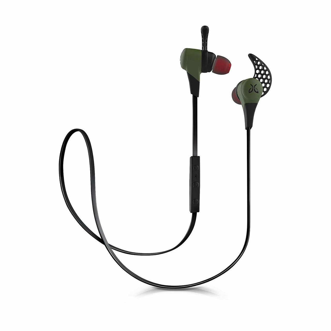 JayBird X2-GR-RB Green Sport Wireless Bluetooth Earbuds with Carrying Pouch - Refurbished