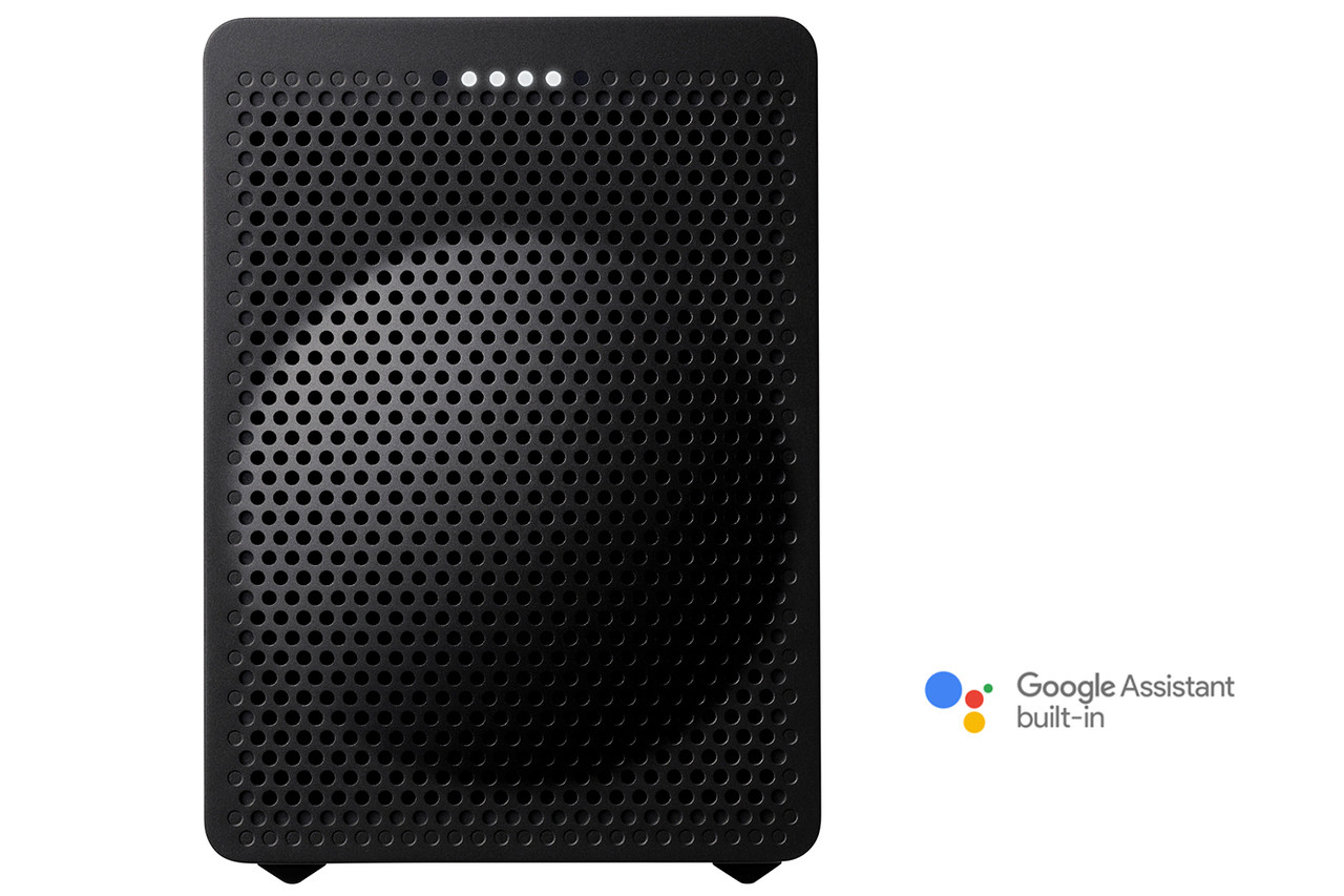 Onkyo  VC-GX30B Smart Speaker G3 with the Google Assistant Built In (Black)