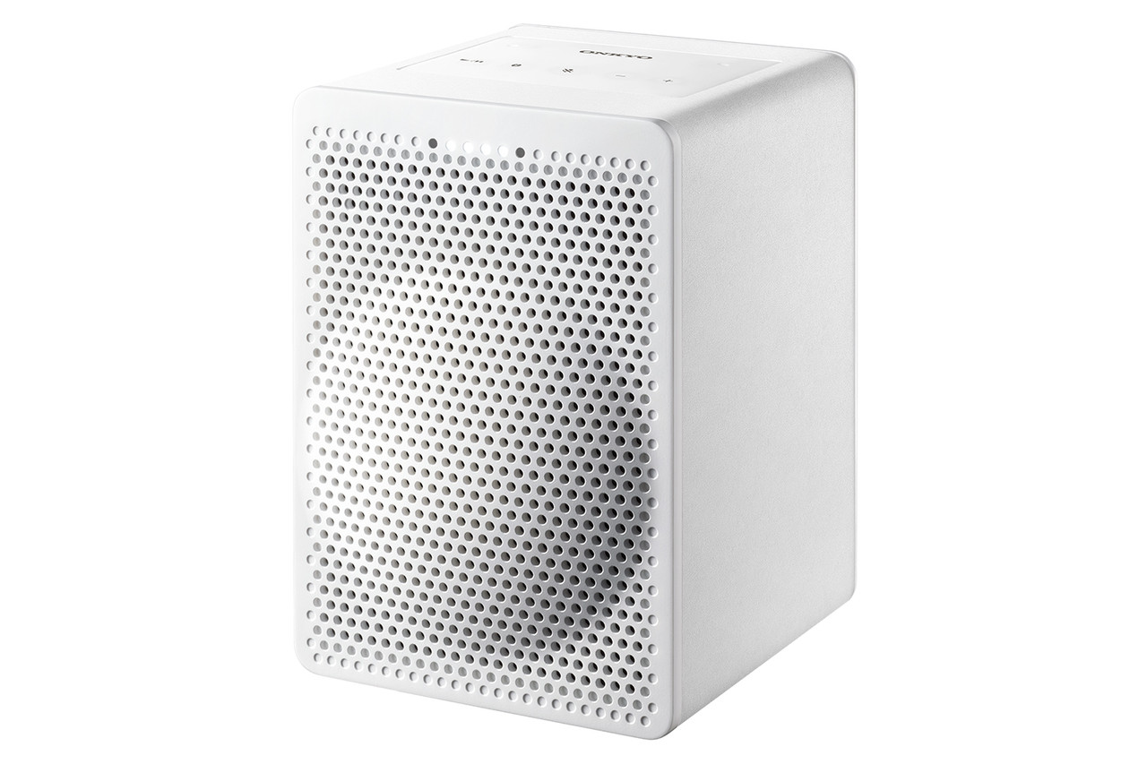 Onkyo  VC-GX30W Smart Speaker G3 with the Google Assistant Built In (White)