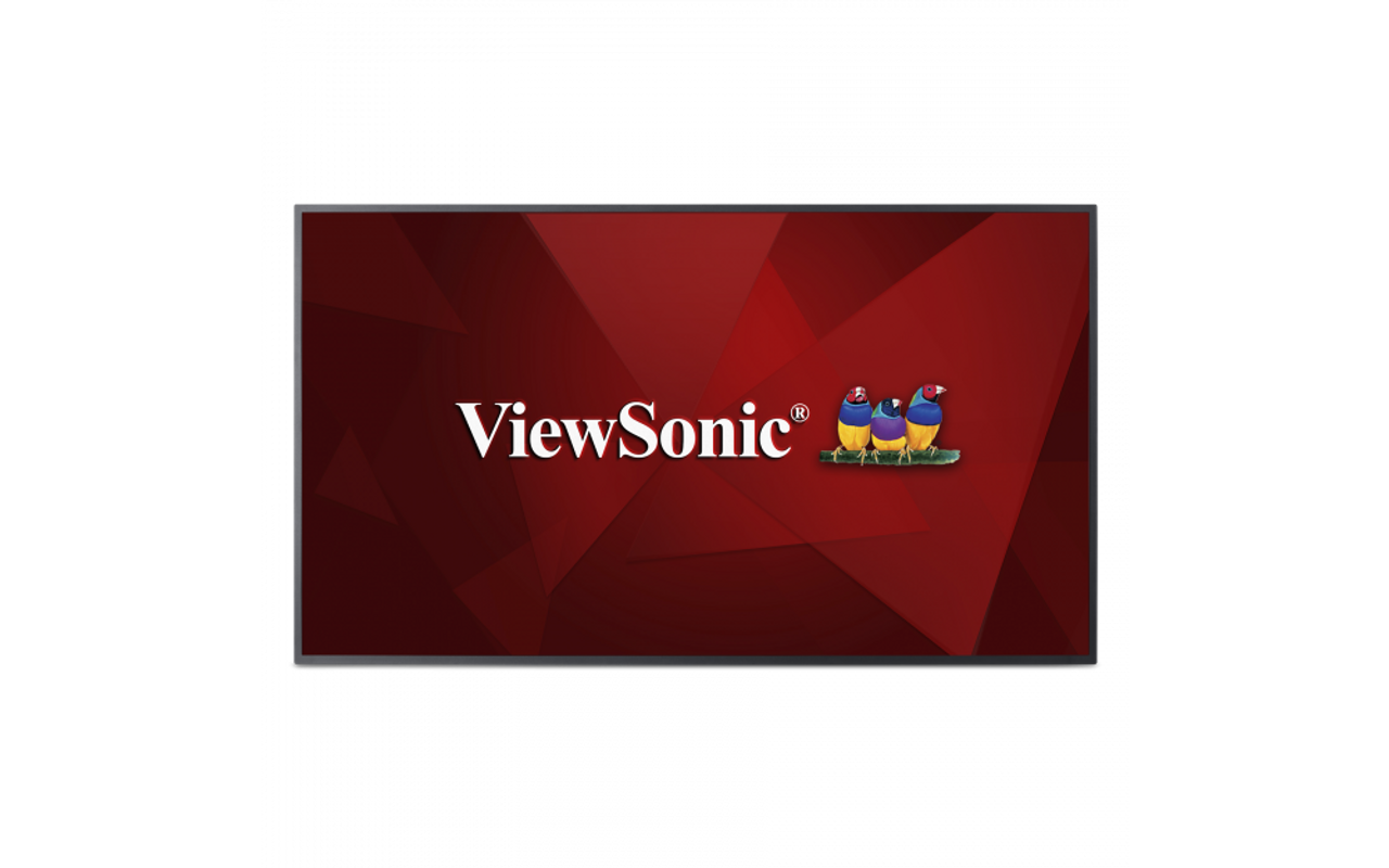 "ViewSonic CDE5510-R 55"" 4K Commercial Display Quad-Core CPU - C Grade Refurbished"