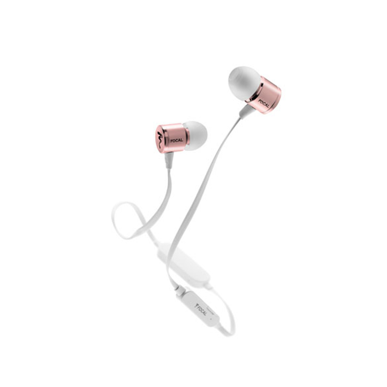 Focal Spark Wireless  In-Ear Headphones w/ Microphone and Control - Your Choice [Black, Silver or Rose Gold]