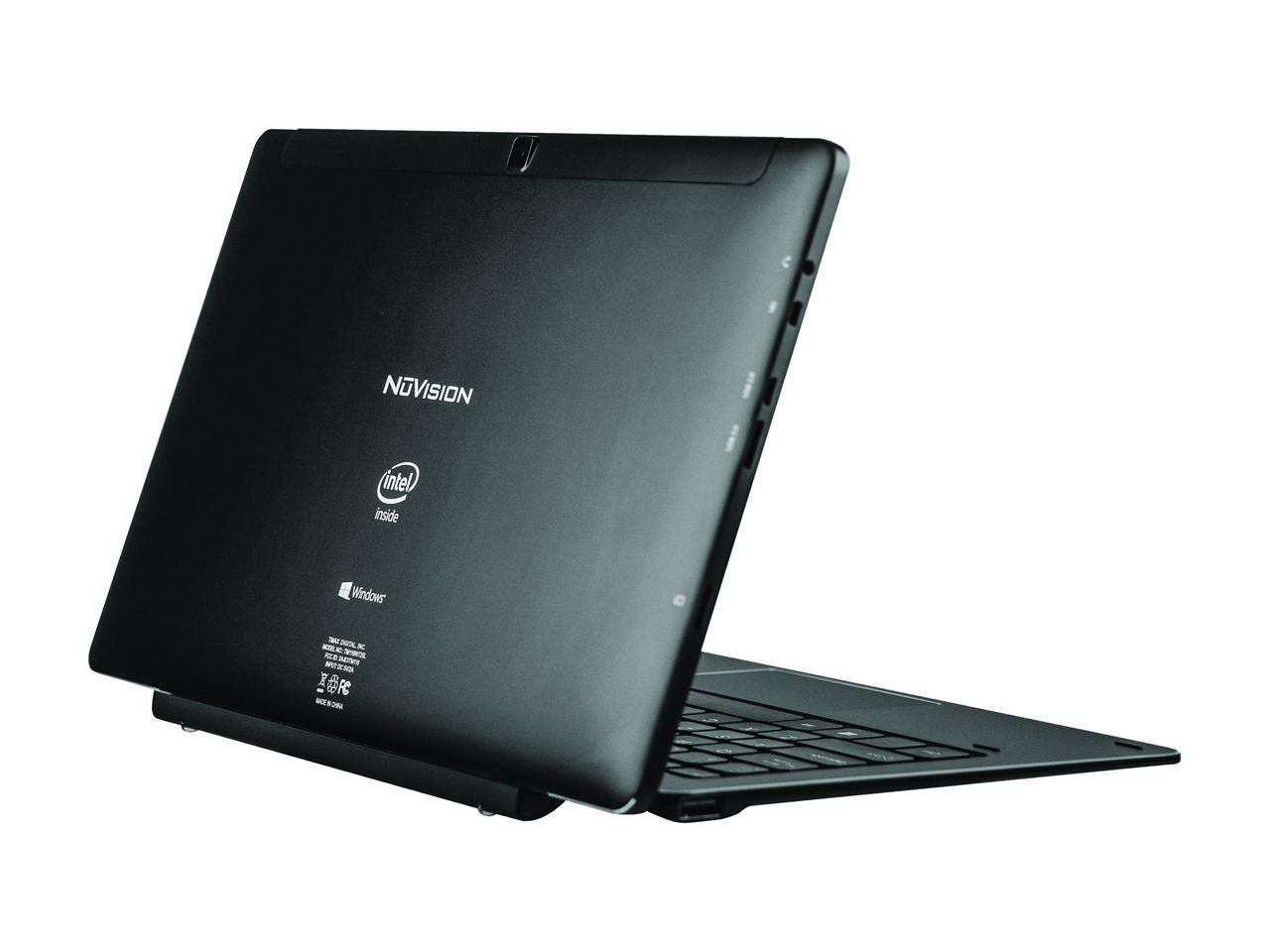 "NuVision Duo 11 TM116W725L-RB 11.6"" Detachable 2-in-1 Laptop - Refurbished"
