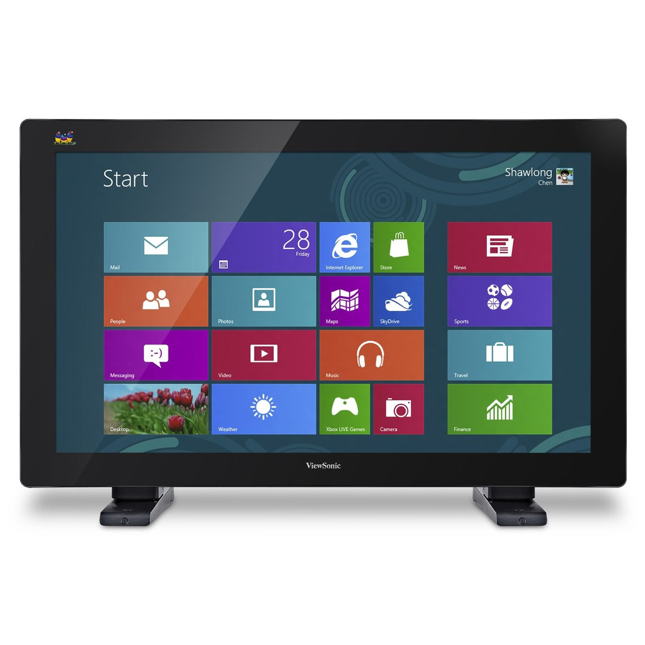 "ViewSonic TD3240-R 32"" Multi-Touch Full HD LED-LCD Monitor - C Grade Refurbished"