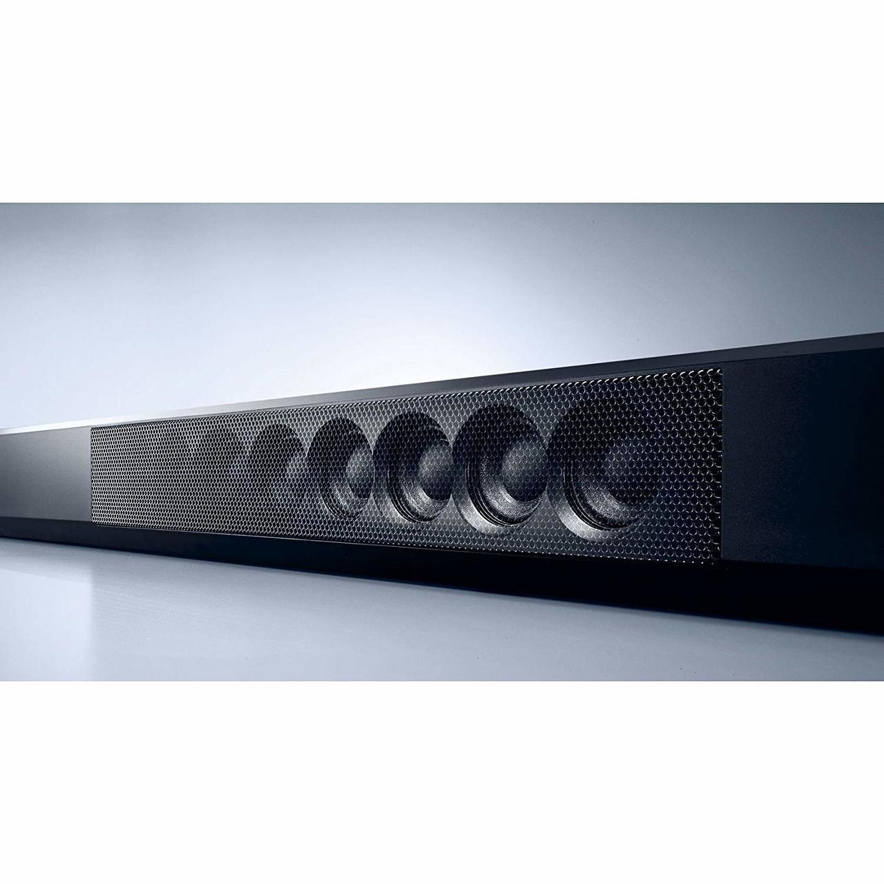 Yamaha YSP-1600BL-R MusicCast Sound Bar, Works with Alexa - Certified Refurbished