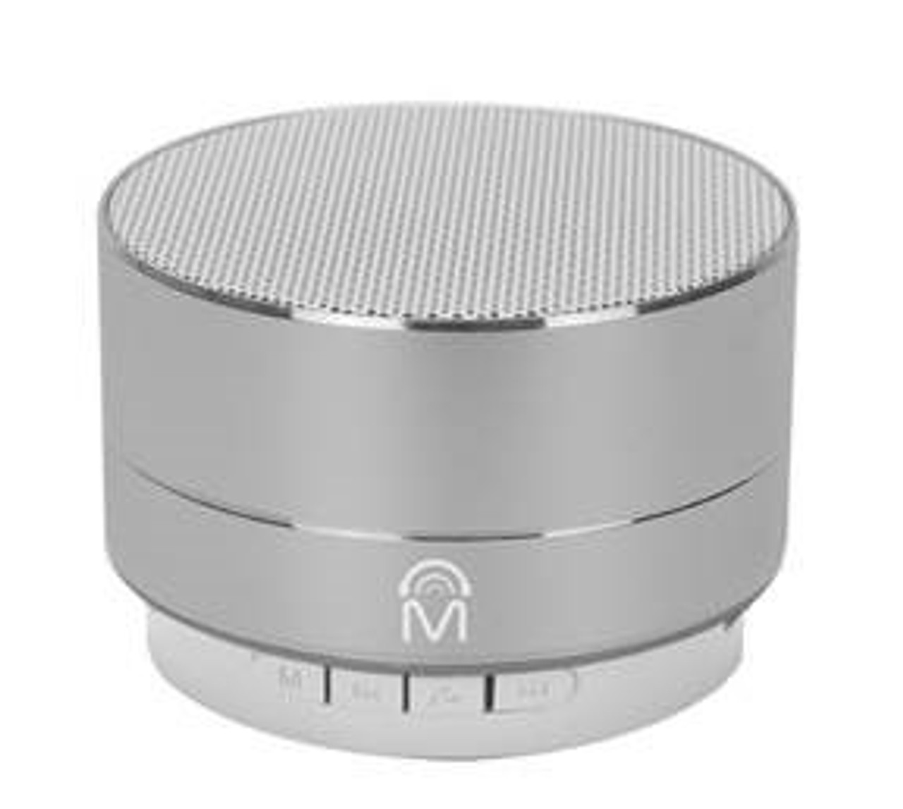 Urban Aluminum Bluetooth Mini Speaker with LED Light 2 Pack - Choose (Gold, Silver or Black)