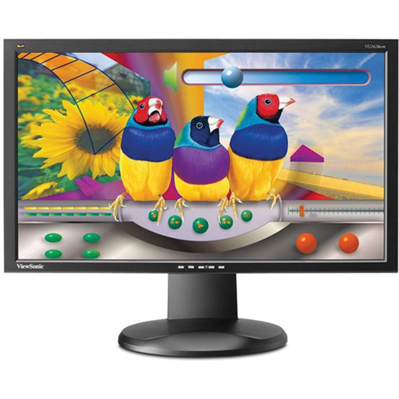 "C Grade ViewSonic VA2419-SMH-R 24/"" Frameless LED Monitor Refurbished"