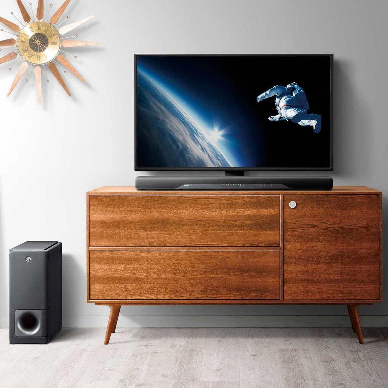 "Yamaha ATS-2070R 200W Total Power 36"" 2.1 Channel Soundbar with Wireless Subwoofer – Refurbished"