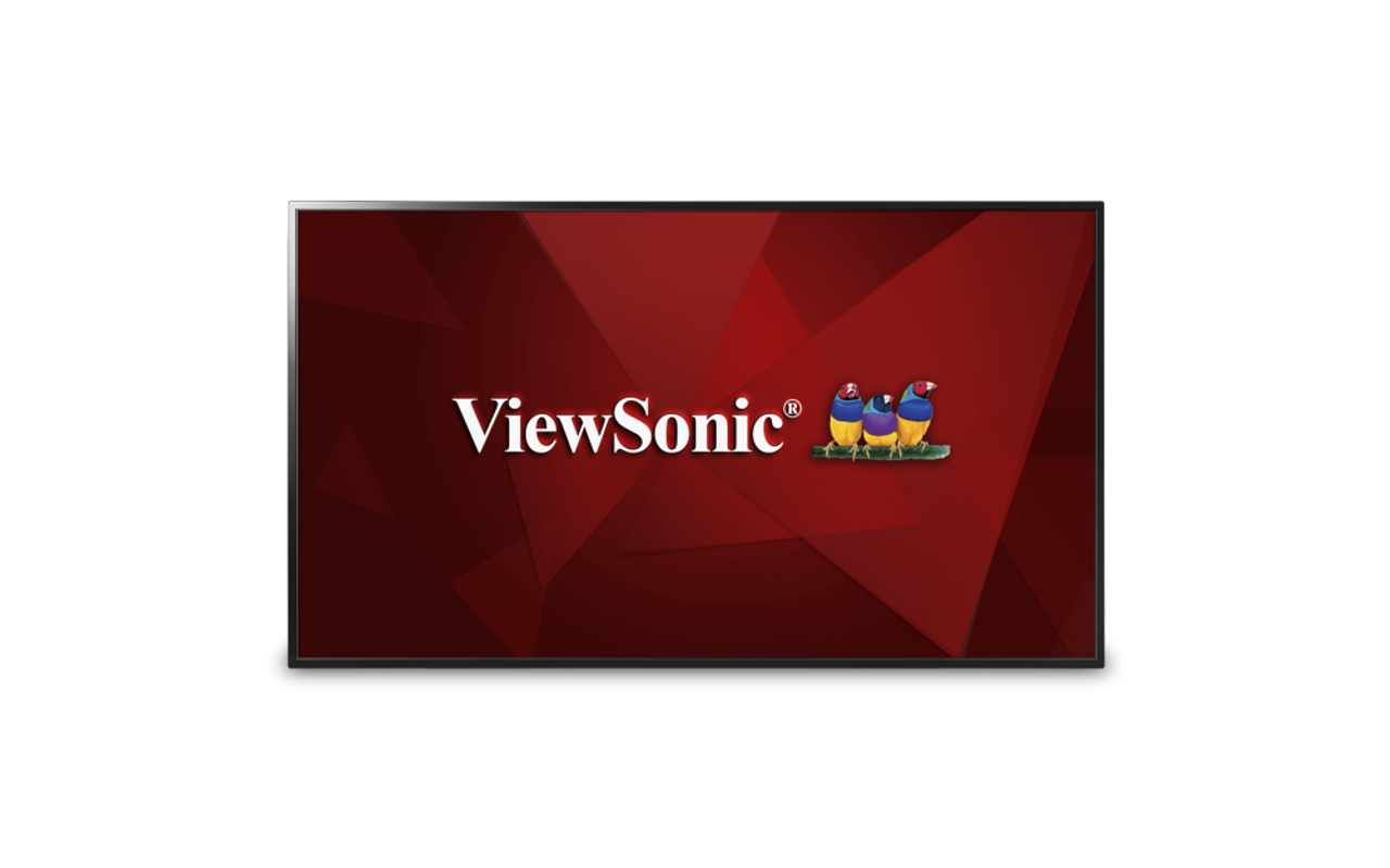"ViewSonic CDE4803-H-R 48"" Full HD LED-Backlit Commercial Display with One-Wire HDBaseT Input - C Grade Refurbished"
