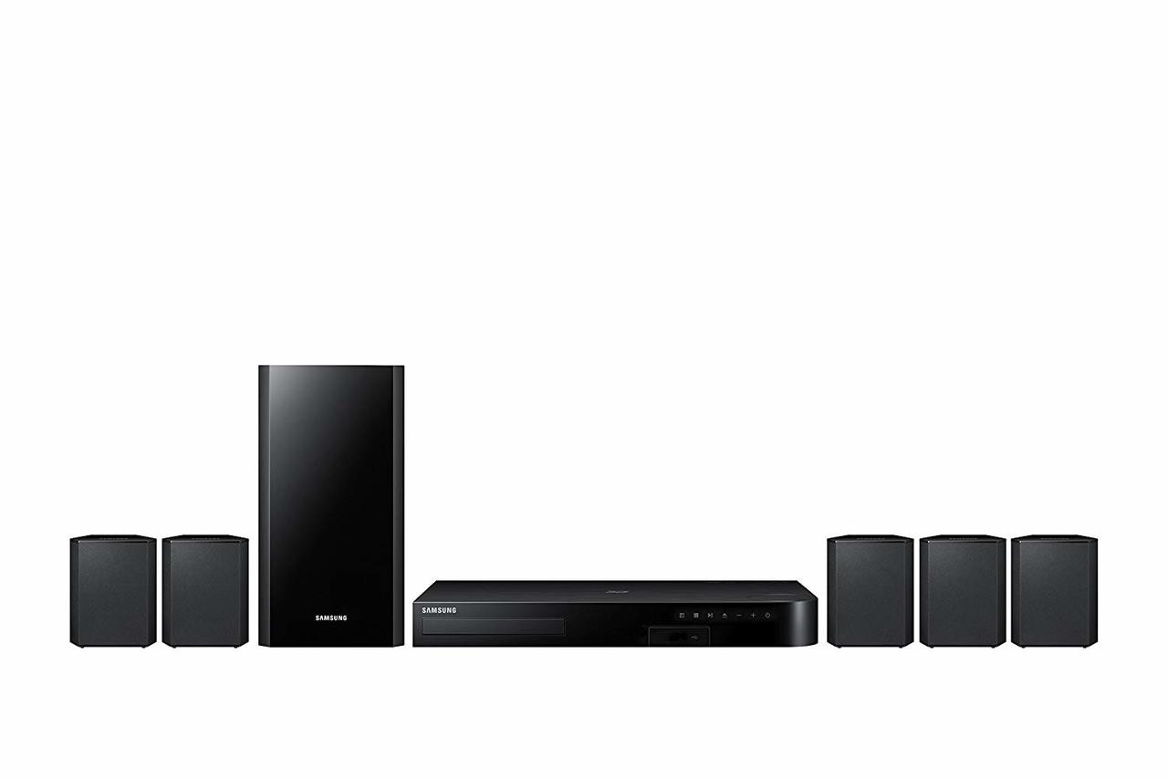 Samsung HT-J4500/ZAR 5.1 Channel 500 Watt 3D Blu-Ray Home Theater System - Certified Refurbished