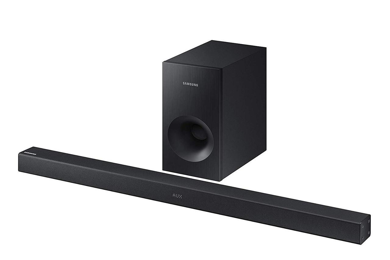 Samsung HW-K369/ZAR 2.1 Channel 130W Soundbar System with Wireless Subwoofer- Certified Refurbished