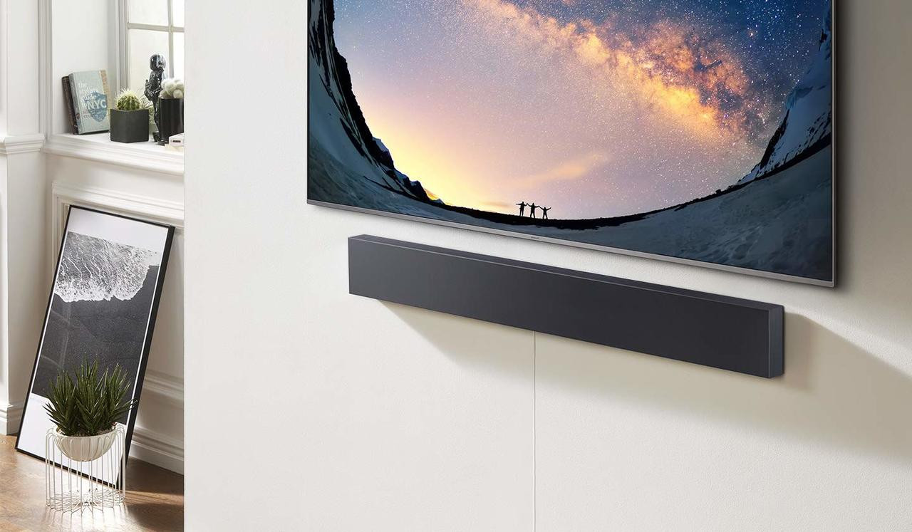 Samsung HW-NW700/ZAR Wall Mountable Slim Soundbar - Certified Refurbished