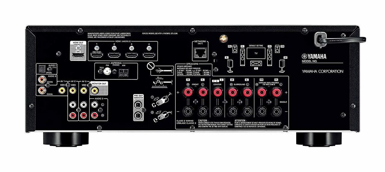 Yamaha TSR-5830-R 7.2-Channel MusicCast AV Receiver -Certified Refurbished